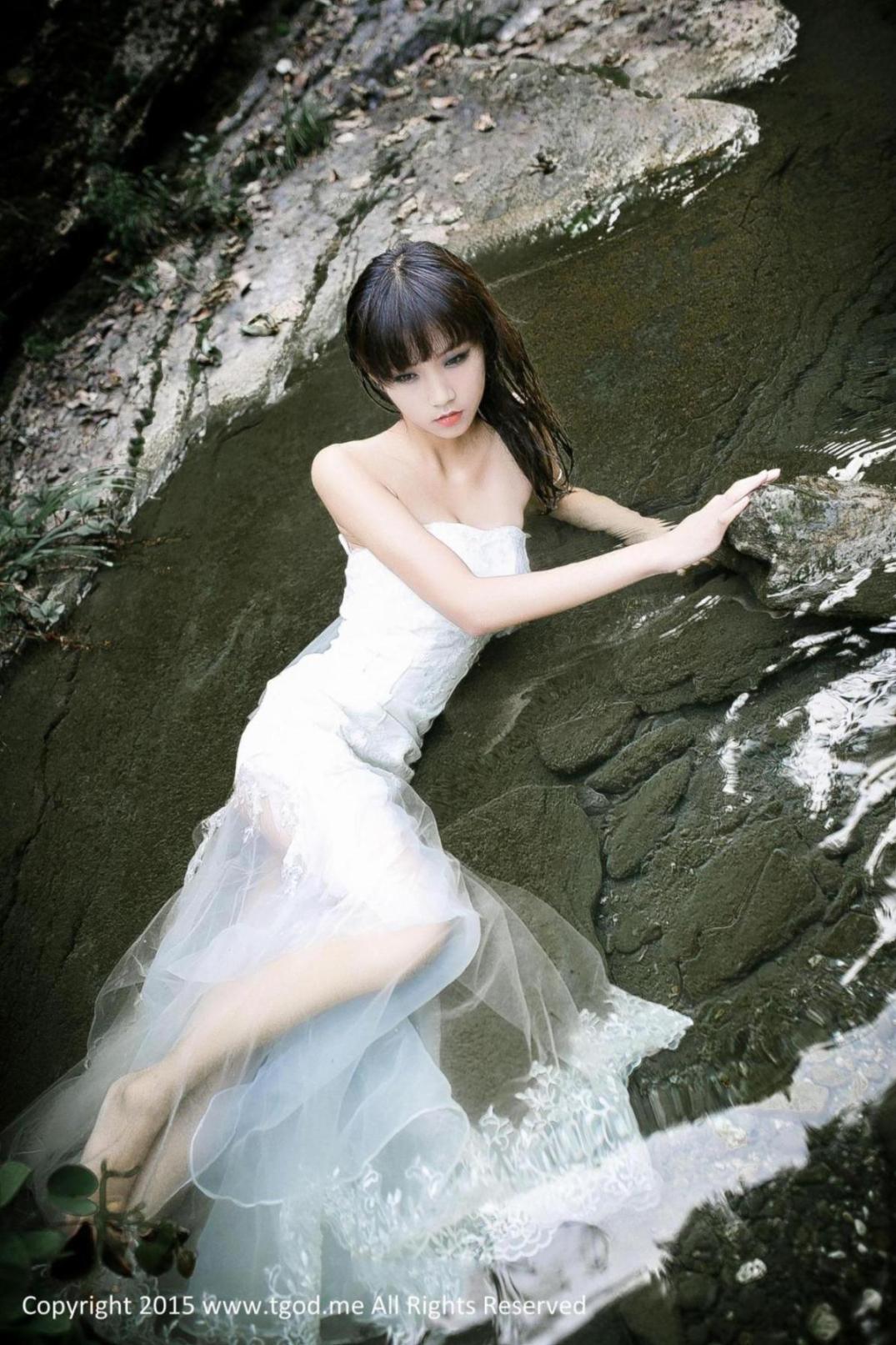 [推女神] 徐畅 幽谷中的美人鱼 高清写真套图