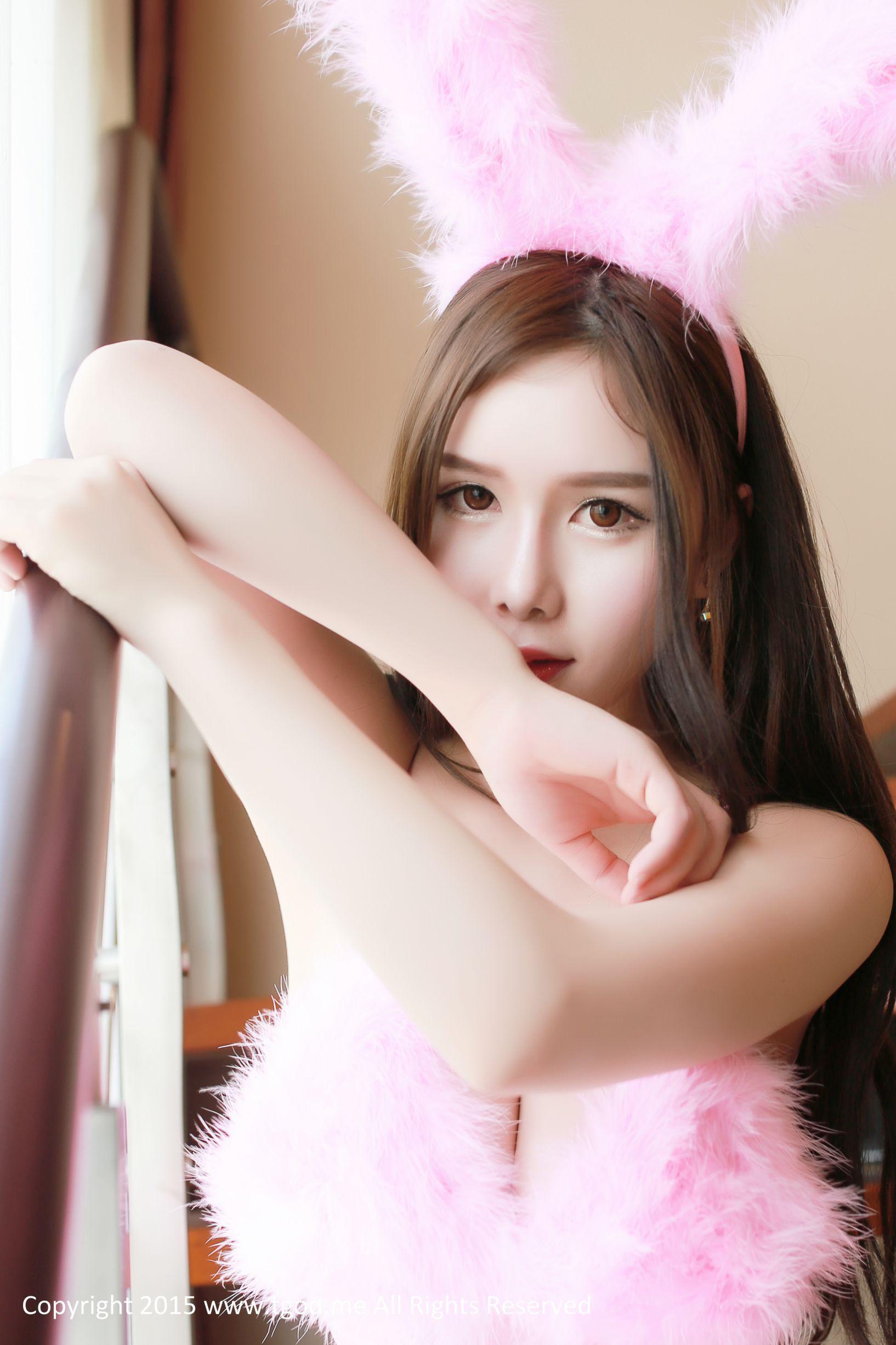 [推女神] 于姬 粉红兔女郎 高清写真套图
