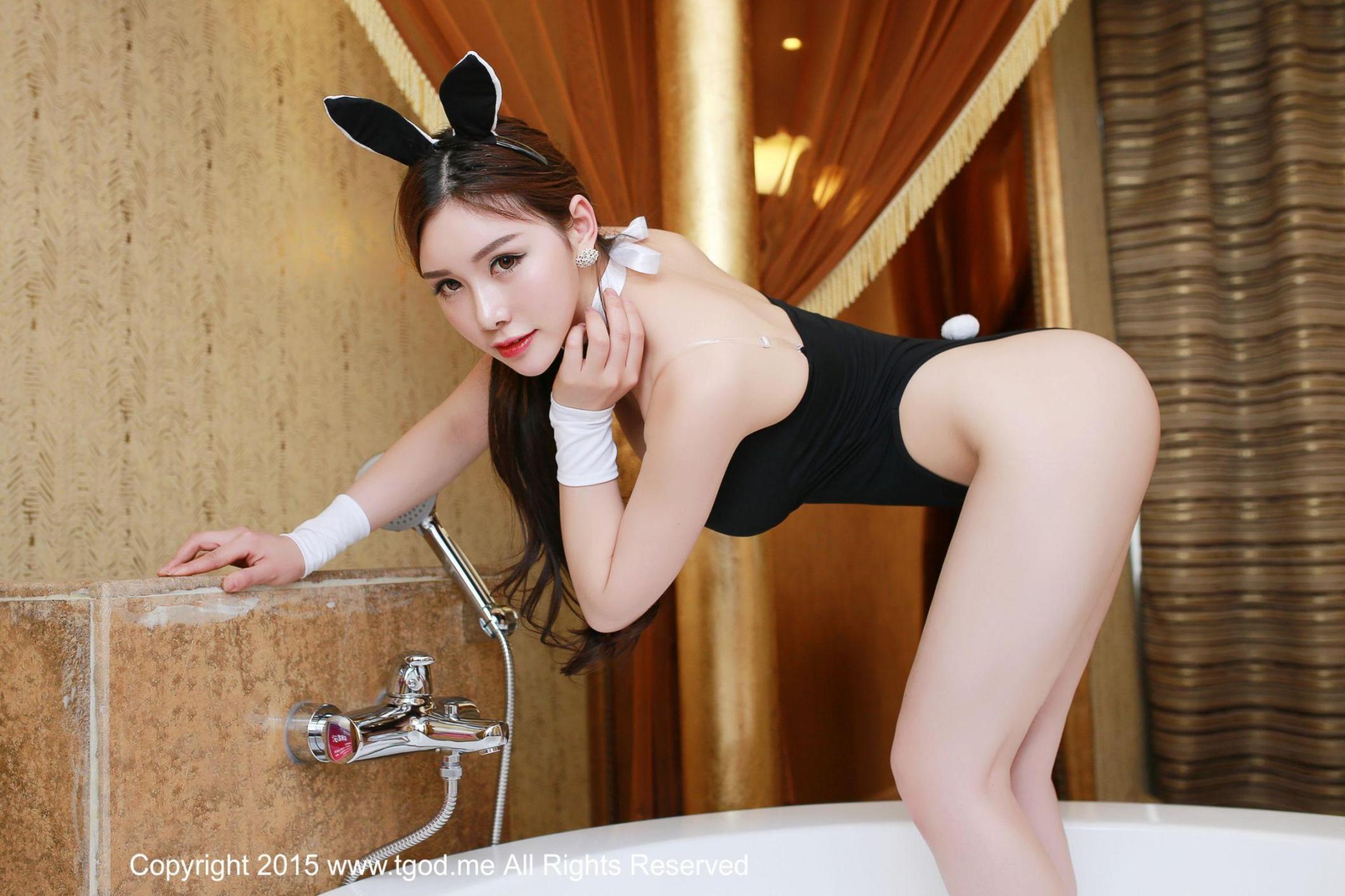[推女神] 于姬 胸器逼人 性感兔女郎 美臀美腿 高清写真套图