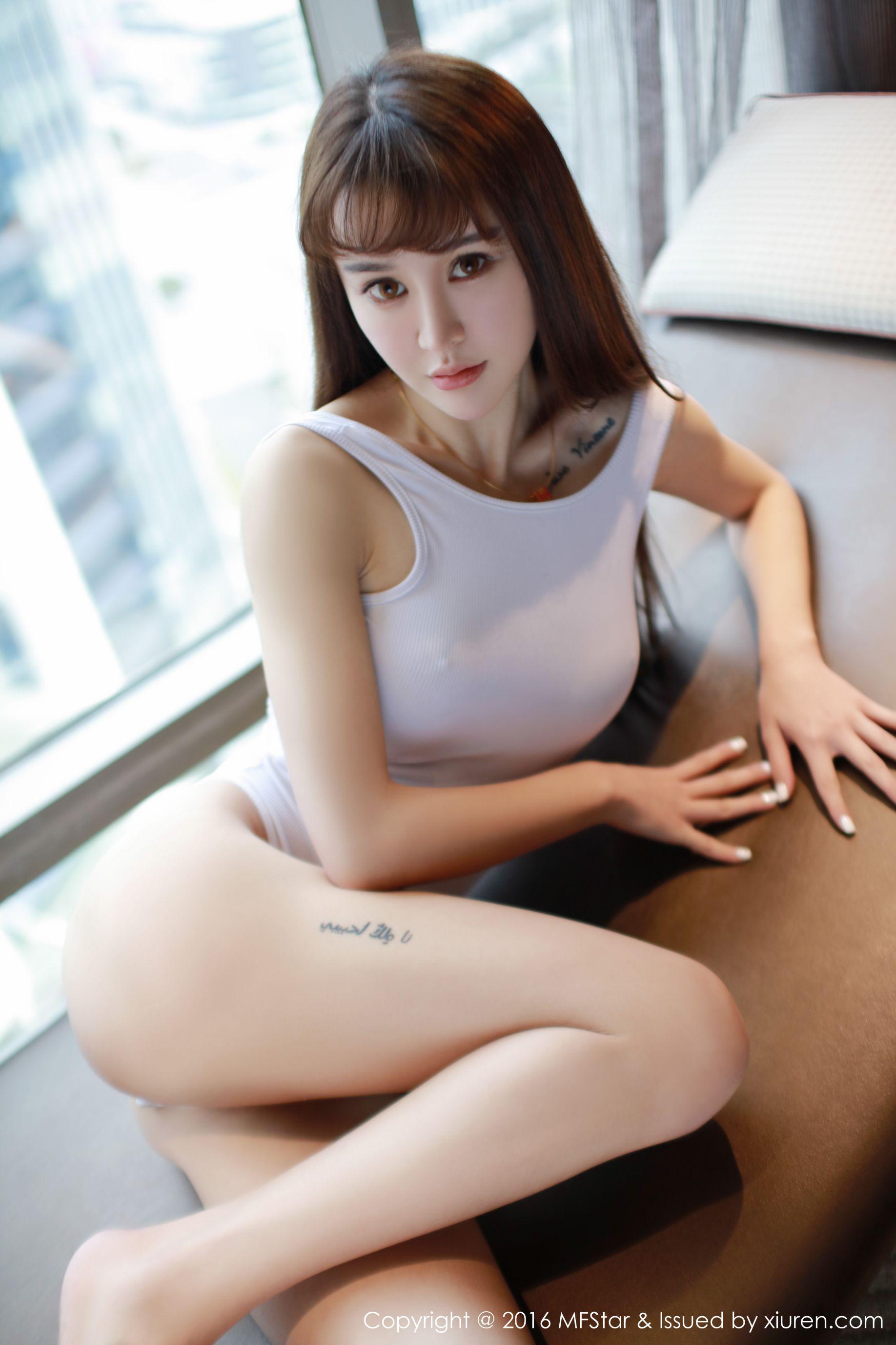 [推女神] Cheryl青树 死库水+性感针织衫 高清写真套图
