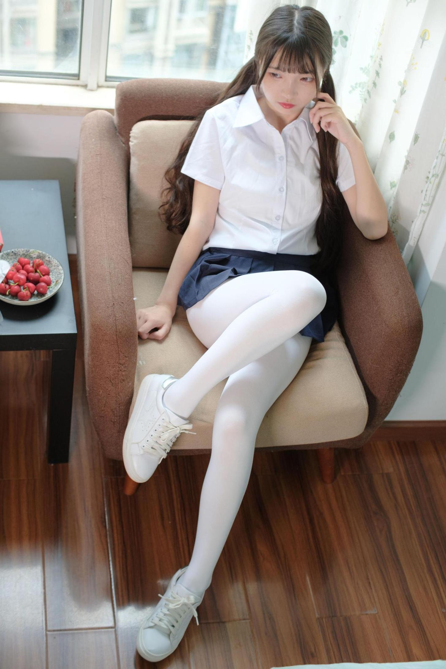 [网络美女] 网络美女 JK白丝清纯小妹 高清写真套图