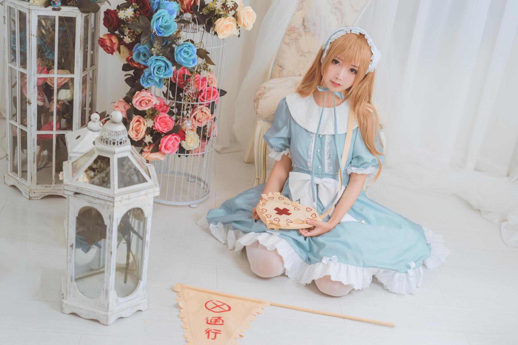 [网络美女] 面饼仙儿 血小板lolita 高清写真套图