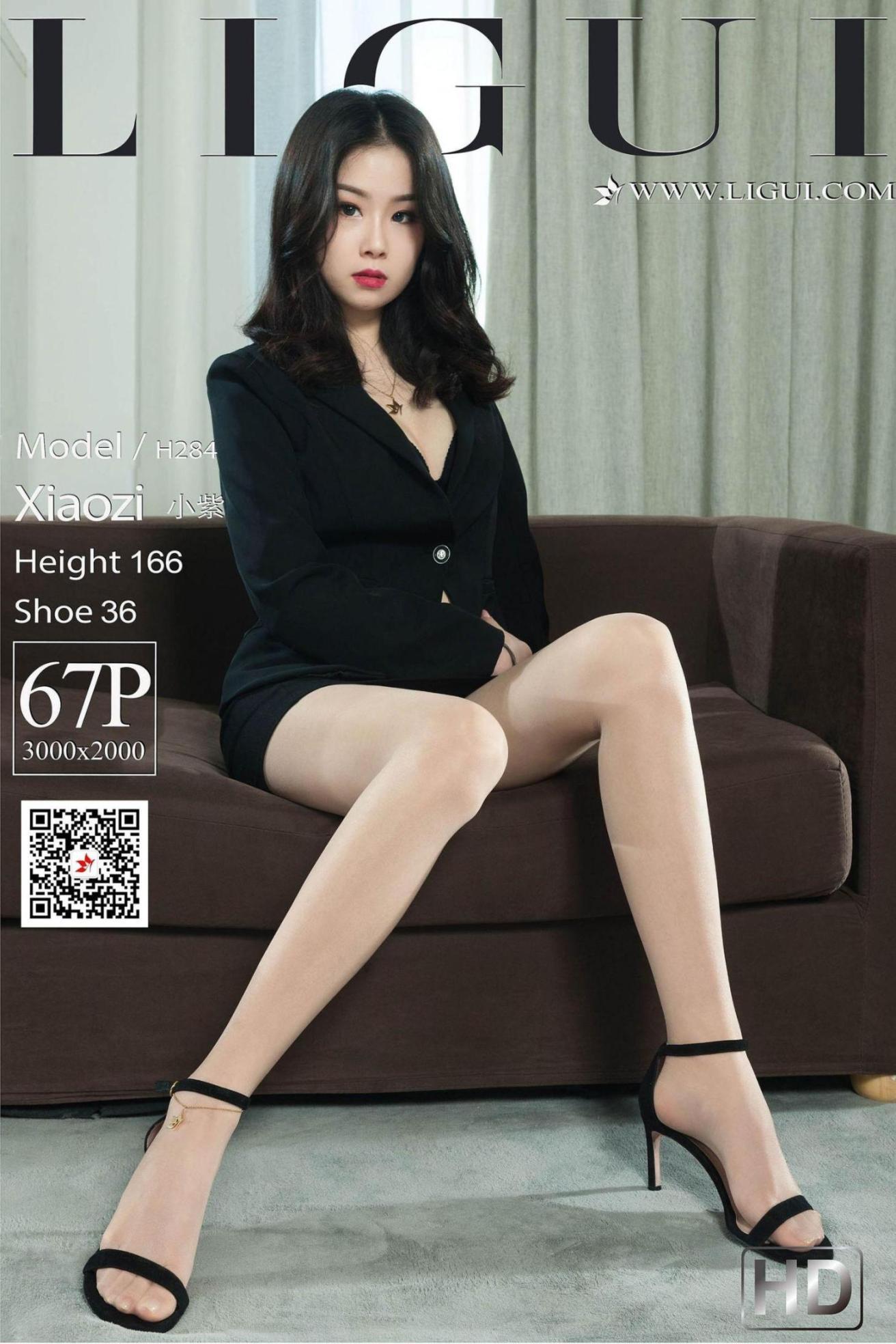 [网络美女] 网络美女 长腿高跟肉丝OL 高清写真套图